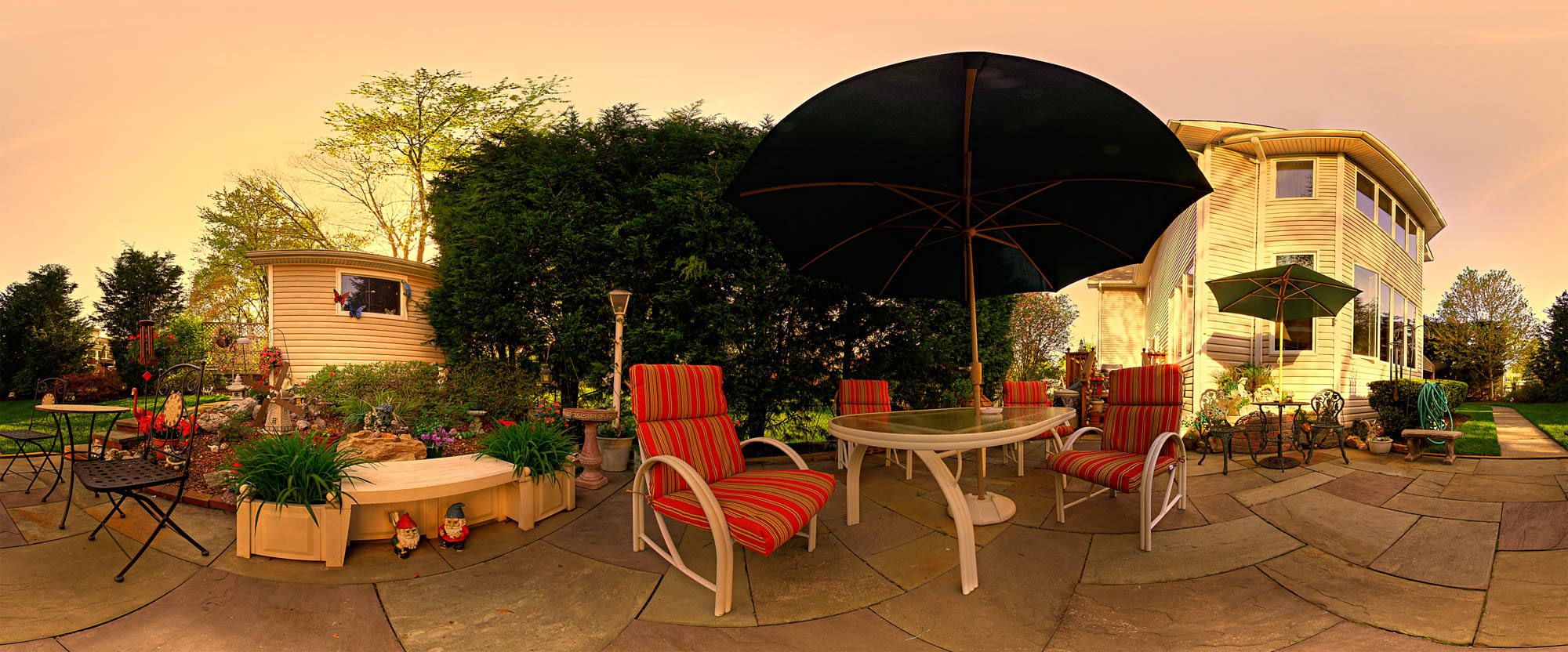 """Beverly Hills"" Yard Pano"